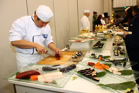 Interactive chefs at Reckon National Conference