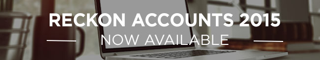 Reckon Accounts 2015 is now available
